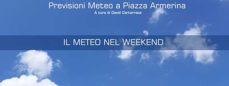 Piazza Armerina – Aggiornamento meteo. Cielo nuvoloso ma con assenza di precipitazioni.