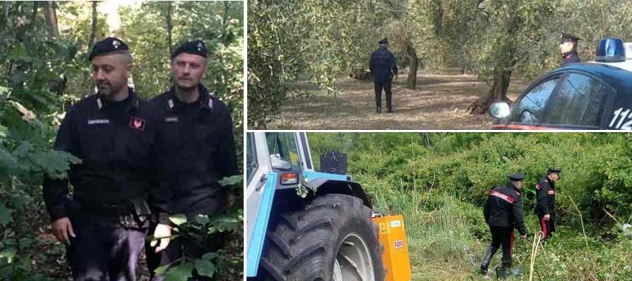 Ritrovato anziano scomparso nelle campagne dell'ennese