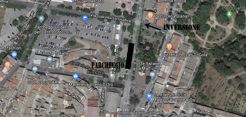 Piazza Armerina – L'inversione del senso di marcia in una parte di via Lo Giudice potrebbe creare ulteriori problemi alla circolazione