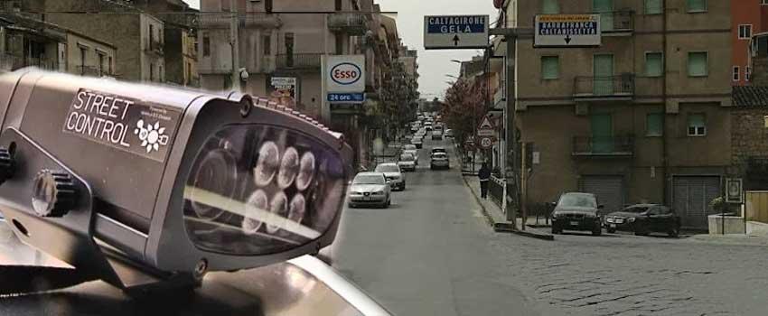 """Piazza Armerina – Attivo lo """"street control"""": automobilisti controllati da telecamere"""