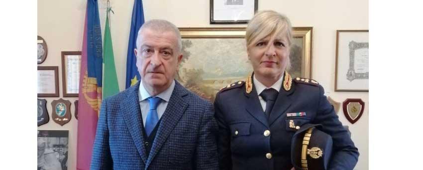 Assegnato dal Dipartimento della P.S. alla Questura di Enna il Commissario della Polizia di Stato Sonia Cavallo