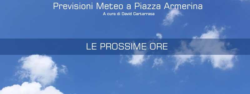 Meteo – Piazza Armerina. Domenica di sole in compagnia dell'alta pressione