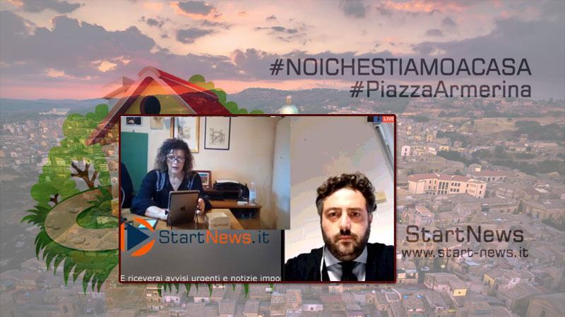 Il sindaco di Piazza Armerina ha risposto alle domande dei cittadini su StartTv