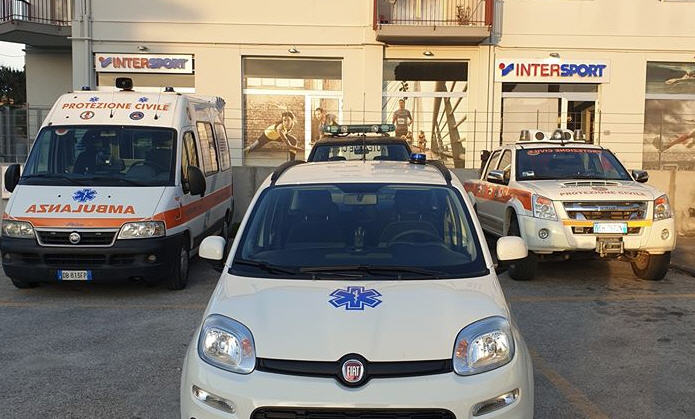 Armerina Emergenza: acquisto di attrezzature grazie alle donazioni dei piazzesi