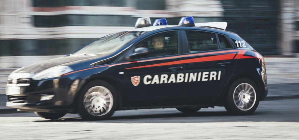 Enna Bassa -Non si ferma all'alt ,inseguimento notturno dei Carabinieri