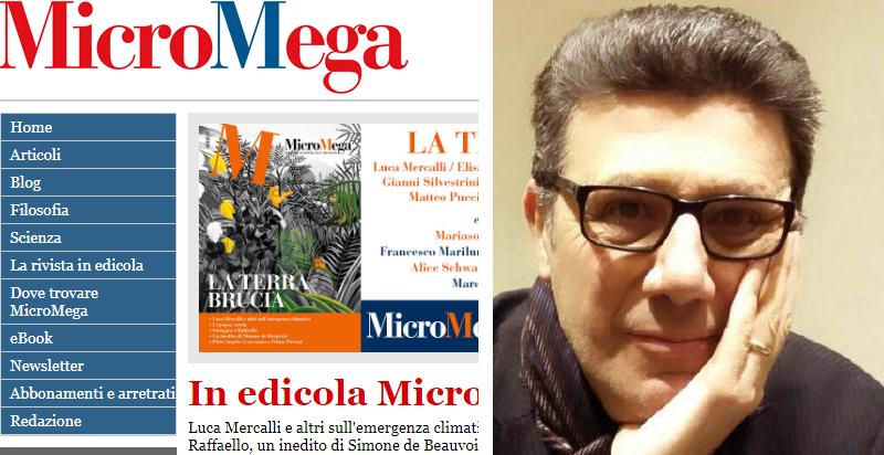 Intervento del professore Fausto Carmelo Nigrelli sulla prestigiosa rivista MicroMega