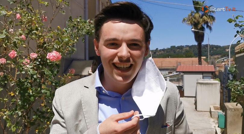 Iniziati gli esami di Stato. Intervista a Cateno Grancagnolo all'uscita della prova orale.