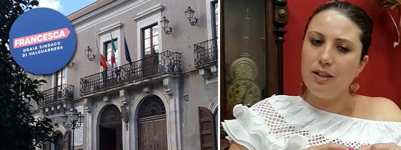 """Si costituisce il comitato elettorale """"Francesca Draià Sindaco di Valguarnera"""""""