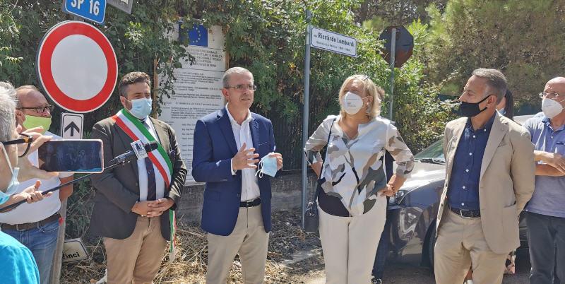 [VIDEO] Piazza Armerina – Inaugurata la strada provinciale 16. In arrivo fondi per la Sp4