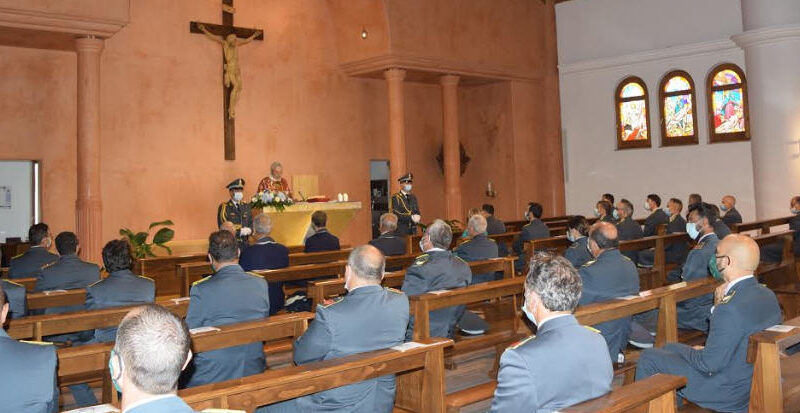Enna: la Guardia di Finanza celebra la ricorrenza di san Matteo, patrono del corpo