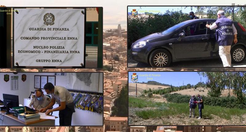 GDF – Operazione Patrimonium – Denunciati cinque imprenditori agricoli tra cui uno residente  a Piazza Armerina