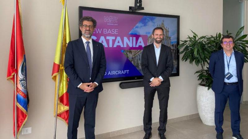 Aeroporto di Catania: Wizz Air annunica una nuova base e nuove rotte