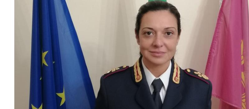 Insediato alla Questura di Enna il nuovo Dirigente della Divisione Polizia Anticrimine, dott.ssa Curtolillo