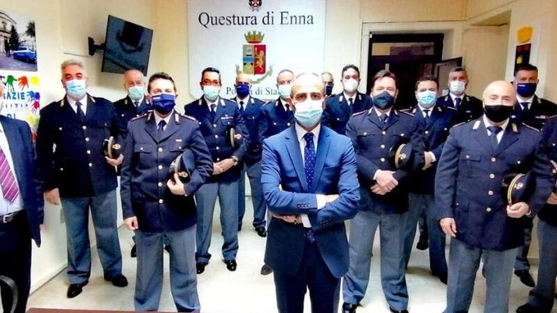Nuovi sovrintendenti alla questura di Enna