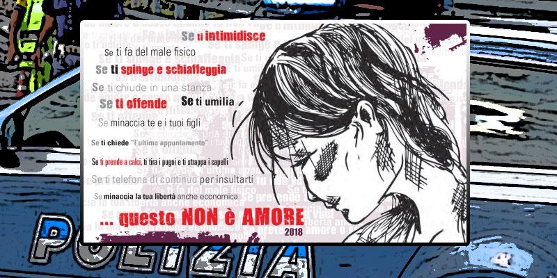 Giornata contro la violenza sulle donne, l'impegno della Polizia di Stato