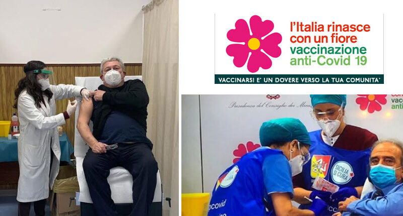 ASP Enna. Medici Aree Covid dell'ASP di Enna vaccinati a Palermo
