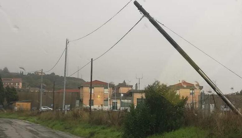Piazza Armerina – Pochi danni per il maltempo di questa mattina.