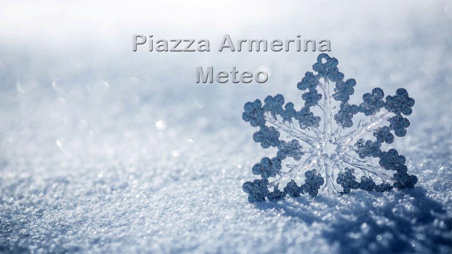 Meteo Piazza Armerina: temperature in picchiata. Attenti al ghiaccio