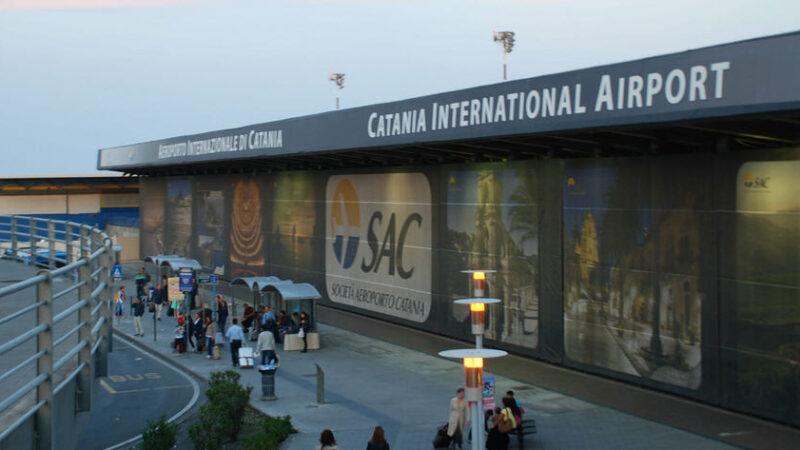 Un calo di passeggeri di circa il 64% per l'aeroporto di Catania