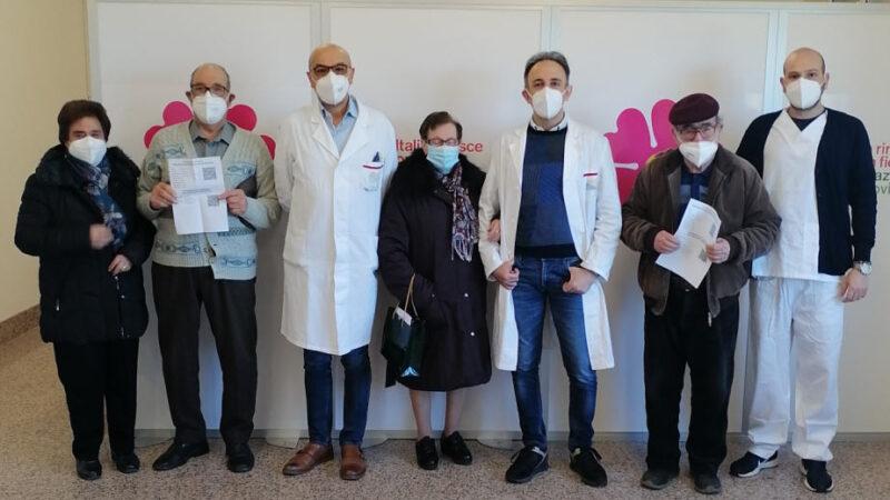 Piazza Armerina – Iole, 82 anni, è la prima vaccinata in Provincia di Enna