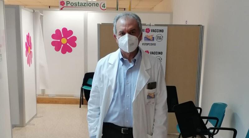 ASP Enna. Vaccinato il personale dell'Ospedale Umberto I di Enna
