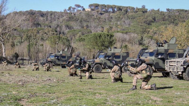 Conclusa l'esercitazione Hermes per la Brigata Aosta. Si è svolta anche nei boschi di Piazza Armerina