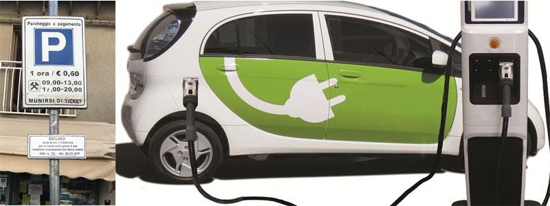 Valguarnera: sosta gratuita per le auto elettriche