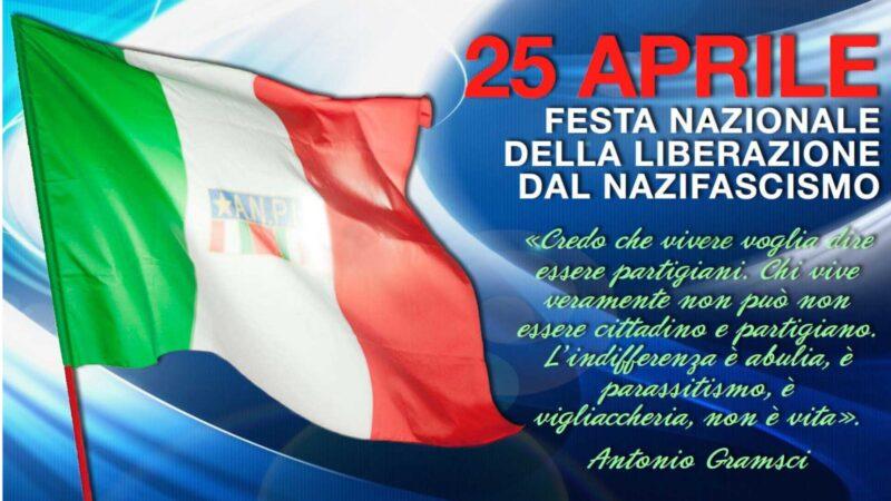 25 APRILE – FESTA DELLA LIBERAZIONE DAL NAZIFASCISMO