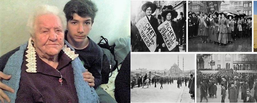 I 112 anni della signora Maria Oliva. Cosa accadeva nel 1909