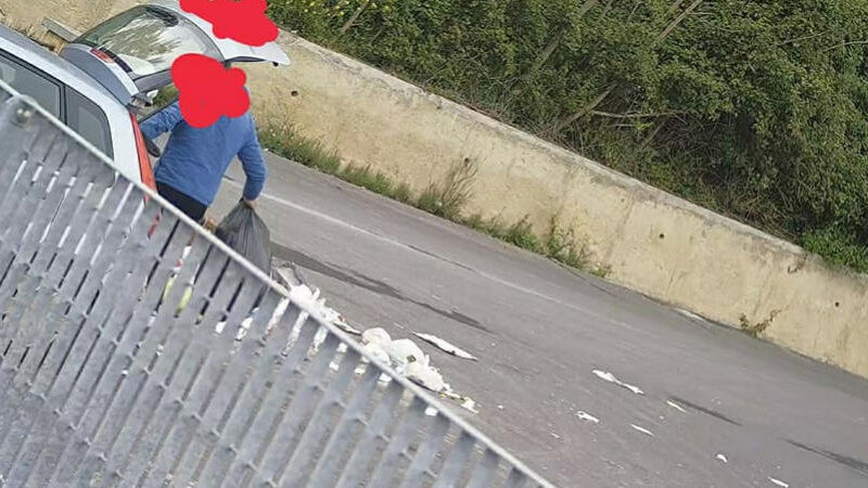Anche ad Aidone Linea dura contro gli incivili del'abbandono rifiuti.