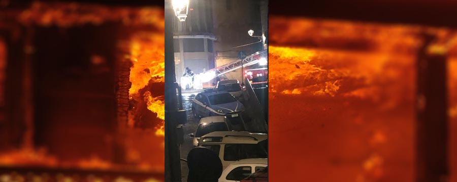 Piazza Armerina – Agenti della Polizia di Stato salvano una coppia di anziani dalla casa in fiamme