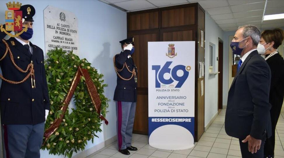 Sessantanovesimo anniversario della fondazione della Polizia di Stato