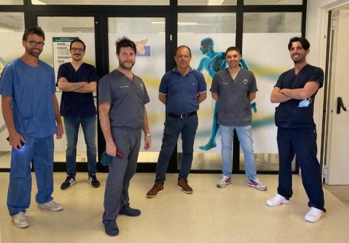 Prestigioso riconoscimento da parte della società scientifica SIAGASCOT all'Unità Operativa di Ortopedia dell'Ospedale Umberto I di Enna