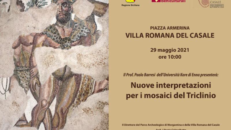 Gli eventi del Parco Archeologico di Morgantina e della Villa Romana del Casale