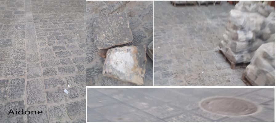 """Piazza Armerina – Le basole di via Carmine fanno discutere ancora. Il comitato di quartiere """"due pesi e due misure?"""""""