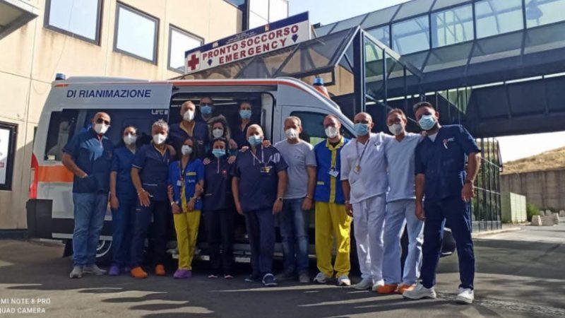 Una nuova ambulanza per  il pronto soccorso dell'ospedale Umberto I di Enna