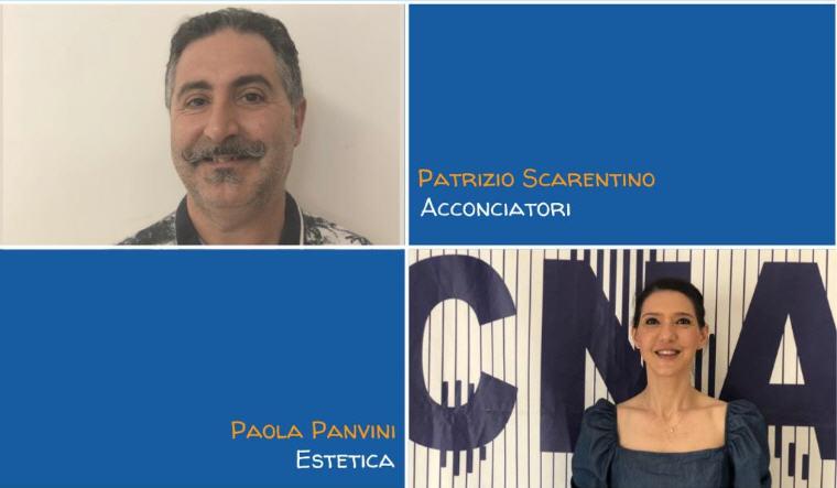 Continua il processo di rinnovo degli organismi della CNA di Enna: per acconciatori ed estetisti riconfermati Paola Panvini e Patrizio Scarentino