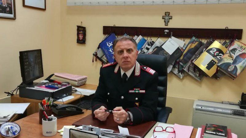 Carabinieri: va in pensione il Luogotenente Walter Luigi Lodico in servizio al Comando Provinciale di Enna